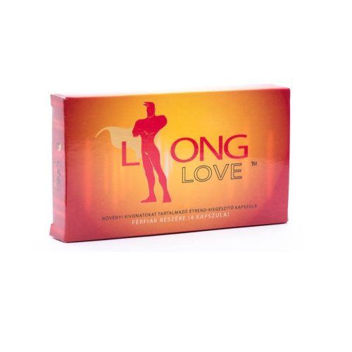 LONG LOVE Kapszula korai magömlés ellen