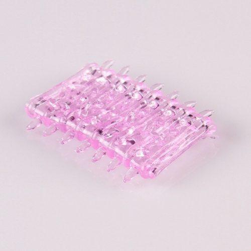 Pink tüskés péniszmandzsetta