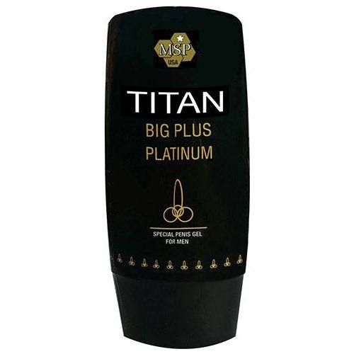 Titan Big Plus Platinum pénisznövelő krém 70 ml