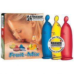 Gyümölcs mix ízű óvszer
