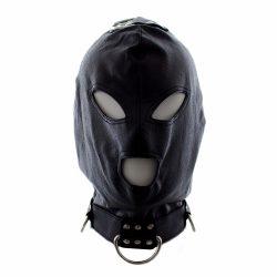 Fekete extrém BDSM maszk