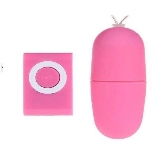 Vezeték nélküli pink vibrációs tojás vibrátor
