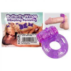 Butterfly Wings vibrációs péniszgyűrű
