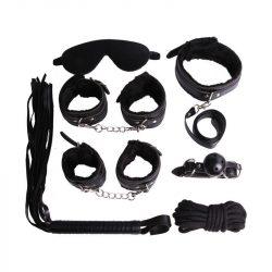 Fekete-7-reszes-BDSM-Szadomazo-szett